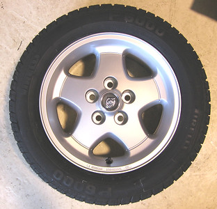 "16"" 5 spoke alloy, standard on XJS 1991-93."