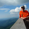 At the Roan High Bluff Overlook