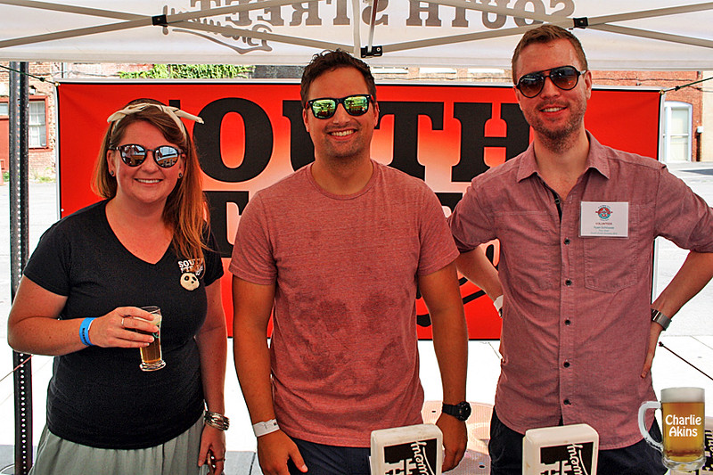 South Street Brewery was also at the event.