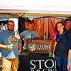 Stone Brewing was at the festival.