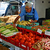 Fresh vegetables at the city market
