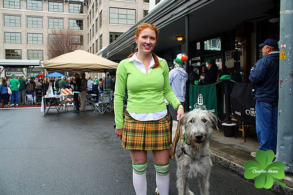 Dressed up for St. Patrick's Day