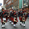 Bagpipes at the parade