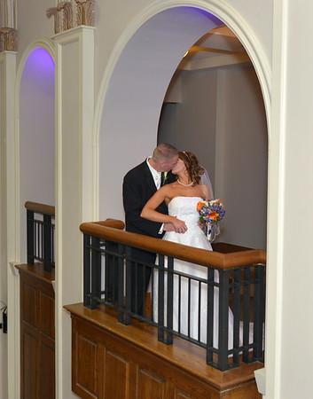 Roanoke Jefferson Center Weddings -  Melissa & Kevin