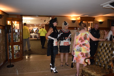 Clare County Arts Council members and others dressed as flappers led guests on tours of the basement and upper floors of the hotel.