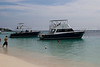 The dive boats, Roatan