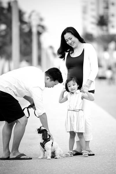 Diana and Jeff family shoot Hollywood beach