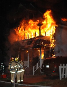 2 Alarm Structure Fire - Baker Ave, Groton, CT - 1.1.07