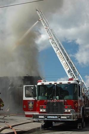 3 Alarm Structure Fire - 86 RT-12, Jewett City, CT - 8.11.07