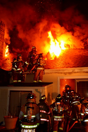 2nd Alarm Structure Fire - 19 George St, Griswold, CT - 2.3.12