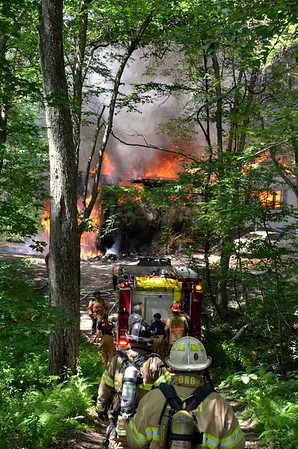 Structure Fire - Unknown Address, Lebonan, CT -  07/23/16