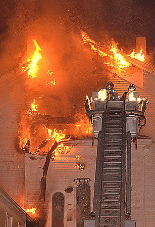 3 Alarm Church Fire - 598 West Main St, Thompson, CT - 12/29/2016