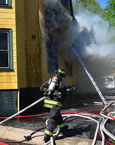 2 Alarm Structure Fire - 50 Freeman Ave, Norwich, CT - 5/4/17
