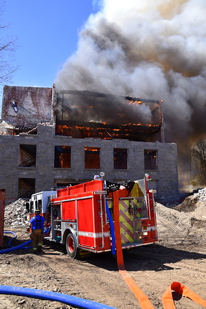 4 Alarm Plus Mill Fire - 29 Bushnell Hollow Rd, Baltic, CT - 4/23/18