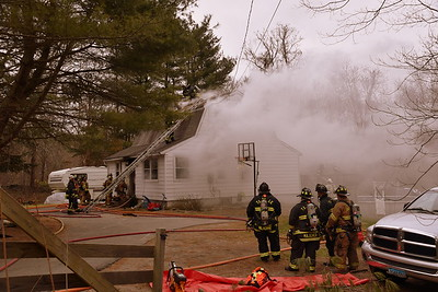 Working Fire - 173 Brewster Rd, Griswold, CT - 4/15/18