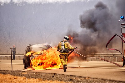 Vehicle Fire - Rt 2 EB, Marlborough, CT - 3/3/18
