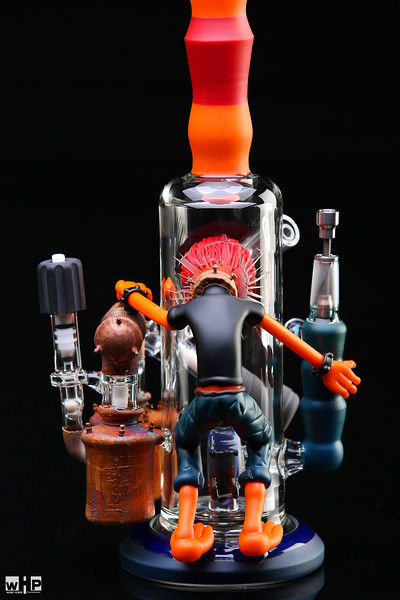 Rob morrison x Hitmanglassdougie and Bluegrassglass  3