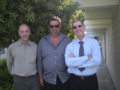Mike, Wit, & John at Danielle's wedding