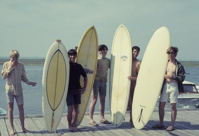 Gilgo Beach - Scott, Jim, John, Robbie, Tom