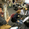 Leominster High School Band Director Robert Bergeron will be playing the sousaphone in the 2021 Rose Parade, hosted by the Pasadena Tournament of Roses, which is an annual parade to mark the start of the Rose Bowl Game, held mostly along Colorado Boulevard in Pasadena, California, on New Year's Day. On Wednesday afternoon he was caught playing the tuba with some of the kids in the band. SENTINEL & ENTERPRISE/JOHN LOVE