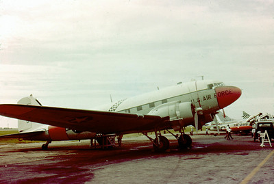 C-47 Skytrain Okinawa 1963