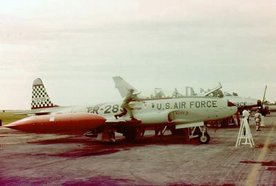 T-33 Shooting Star Okinawa 1963