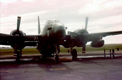 P2V Neptune Okinawa 1963