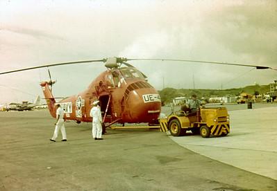 Sirkosky H-34 Choctaw Okinawa 1963