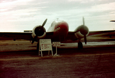 SNB-5 Beechcraft Okinawa 1963