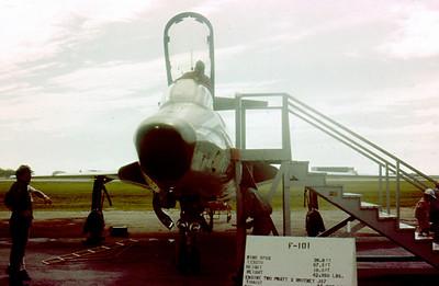F-101 Voodoo Okinawa 1963
