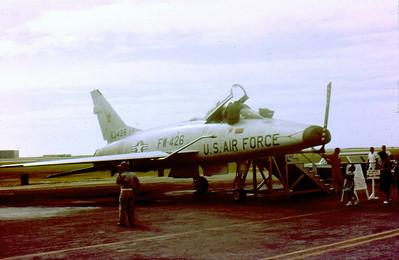 F-100 Super Sabre Okinawa 1963