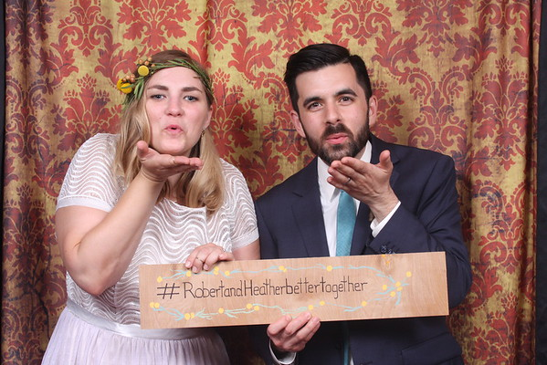 Robert & Heather's Wedding Photo Booth