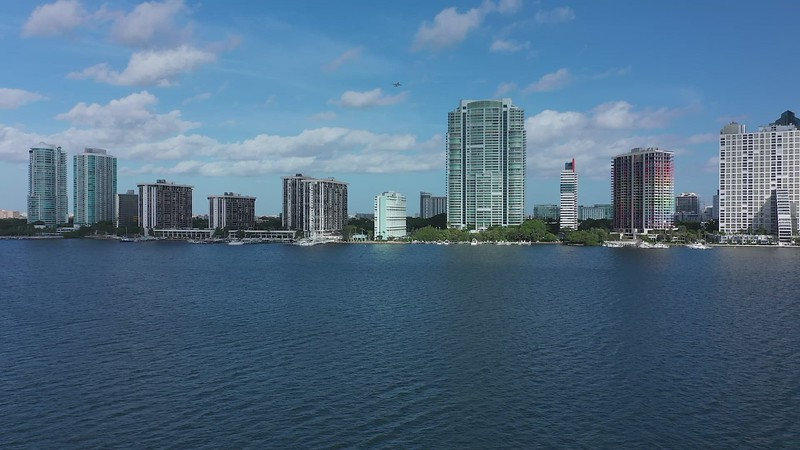 Brickell Ave. from Rickenbacker Causeway to the Miami River