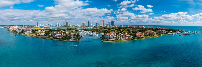 Fisher Island, Southside view