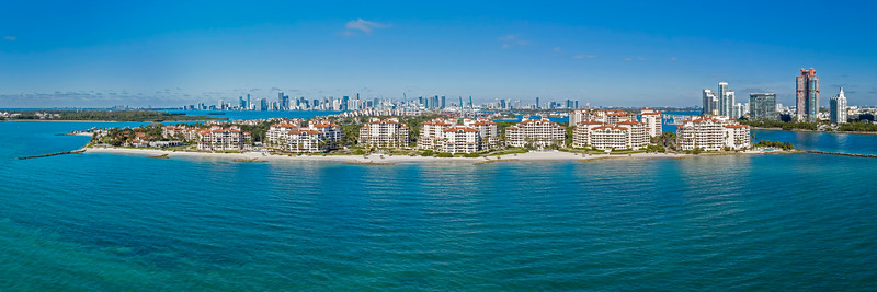 Fisher Island,  Oceanside view
