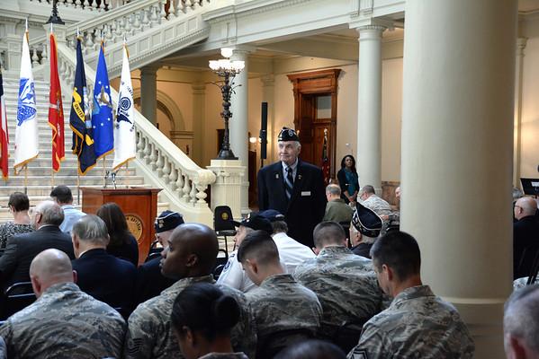 Memorial Service at Georgia State Capital 2013