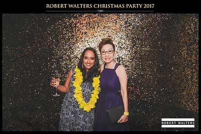 Robert Walters Christmas Party 2017 | © www.SRSLYPhotobooth.sg
