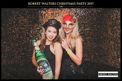 Robert Walters Christmas Party 2017 | © www.SRSLYPhotobooth.sg