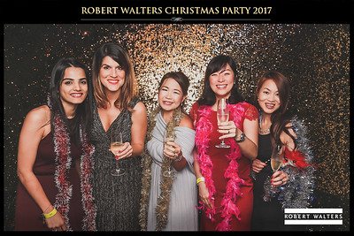 Robert Walters Christmas Party 2017   © www.SRSLYPhotobooth.sg