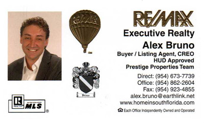 Alex Old Business Card