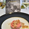 "Veal with shaved truffles at the ""Pure Italian Cuisine"" book release."
