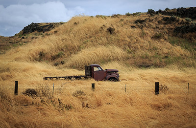 Broken down and stranded in the Palouse.