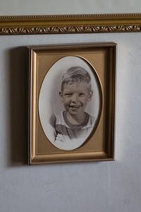 Papa as a young boy