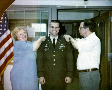 Captains pinning - Oct 2000