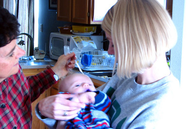 Aunt Holly meeting Zachary