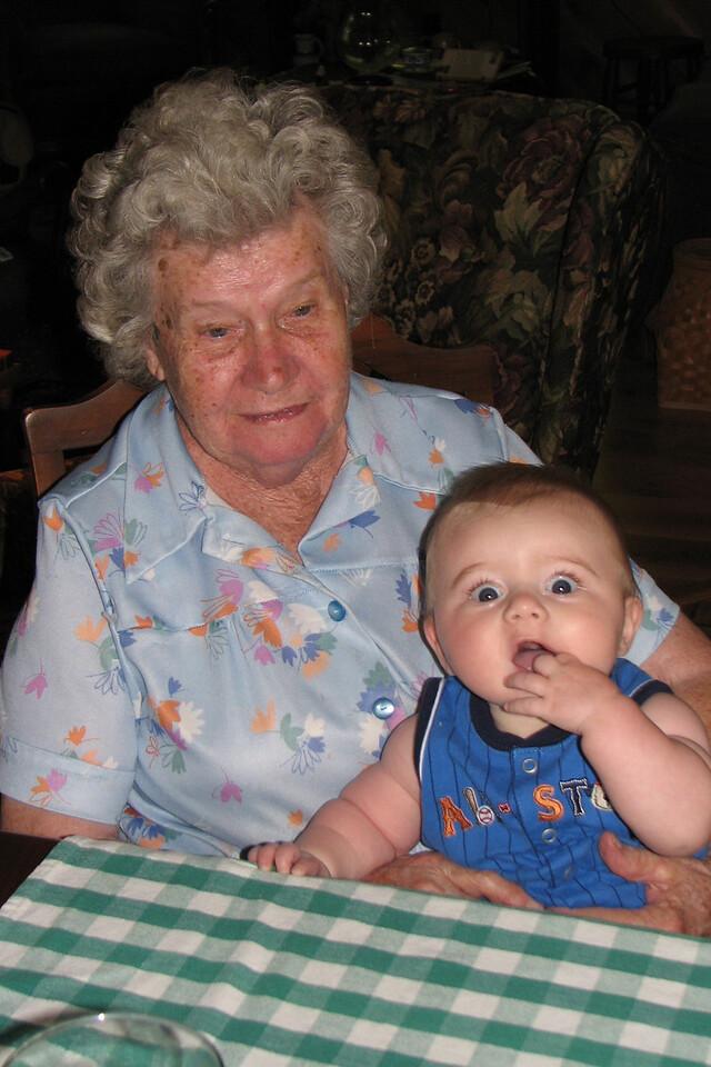 My great-aunt Lockie