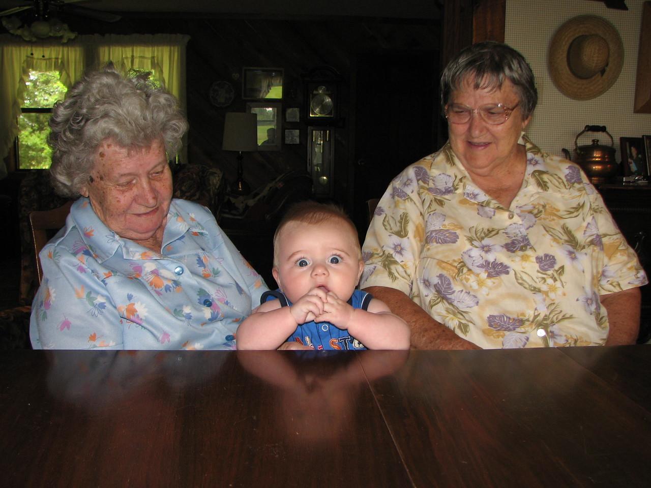 "Great-Aunt Lockie & Great Grandma ""Nanny"" Edley"