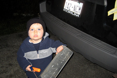 i'm not teaching zach to steal license plates - just replace them