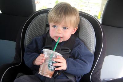 Zach likes Starbucks