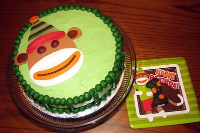 Cord's birthday cake - Nov 29th is his big 1st birthday